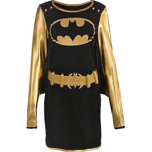 Adult Batgirl Long-Sleeve Dress - Batman Image #2