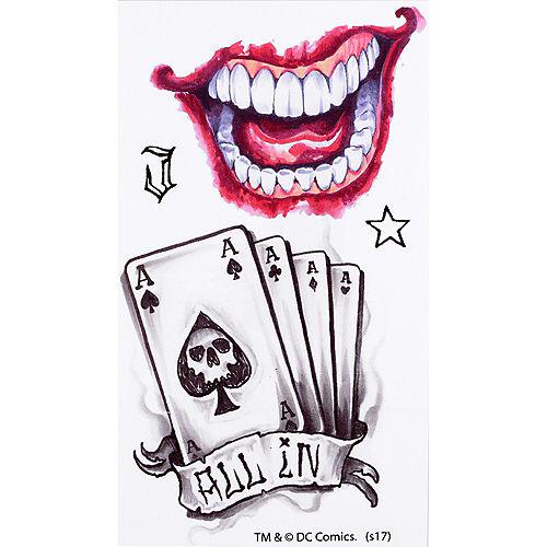 Joker Tattoos 10ct - Suicide Squad Image #3