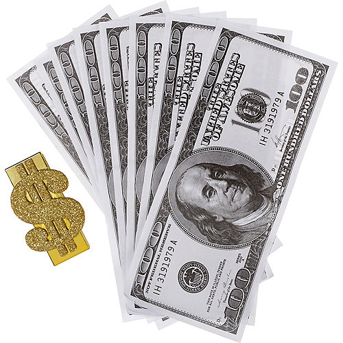 Wad of Cash with Money Clip Image #2