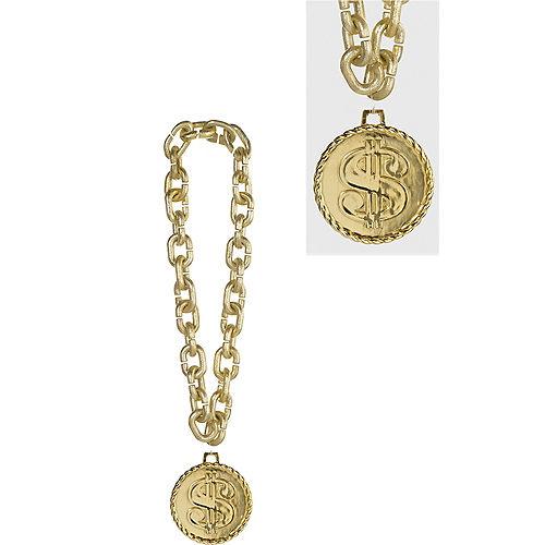 Gold Dollar Sign Chain Image #1