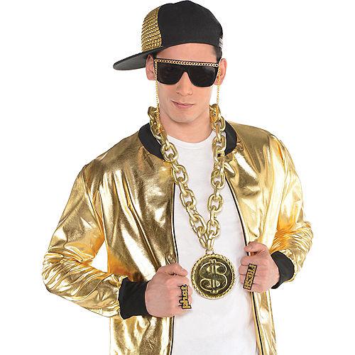 Gold Dollar Sign Chain Image #2
