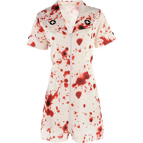 Adult Bloody Nurse Costume Accessory Kit Image #2
