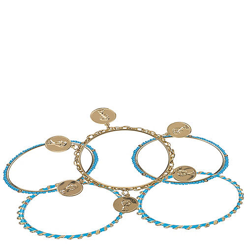 Gods & Goddesses Bangle Bracelets 5ct Image #1