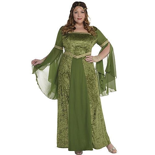 Adult Renaissance Gown Plus Size Image #1