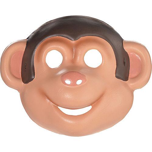 Child Monkey Mask Image #1
