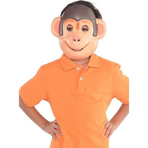 Child Monkey Mask Image #2