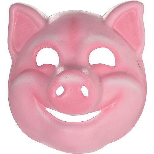 Child Pig Mask Image #1