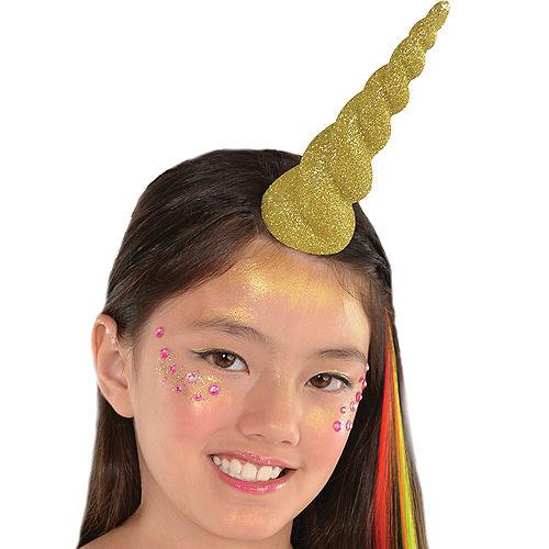 Glitter Gold Unicorn Horn Image #2