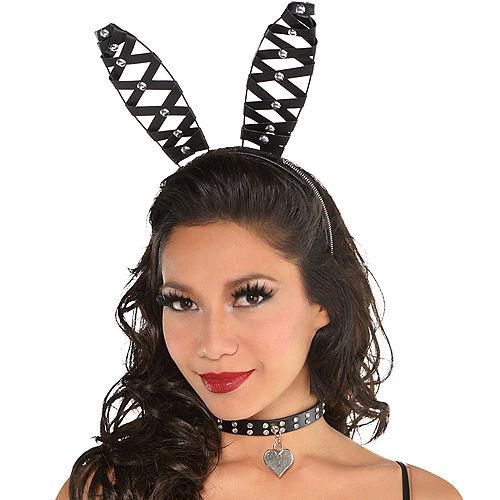 Adult Domineer Bunny Ears Headband Image #2