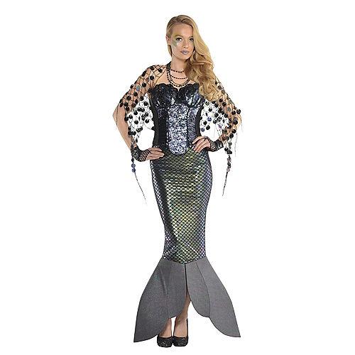 Adult Sea Siren Mermaid Net Wrap Image #2