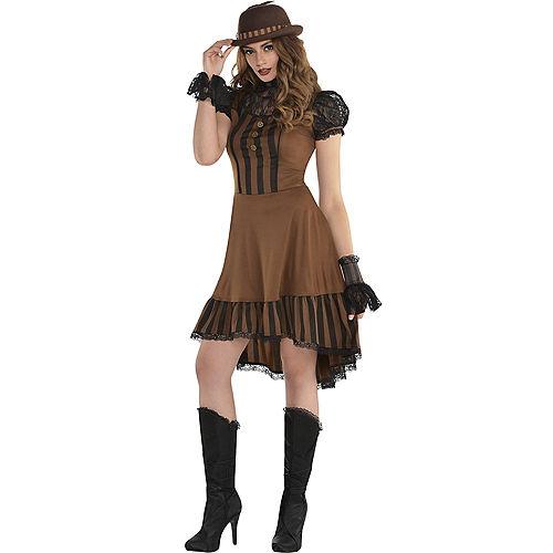 Adult Steampunk Dress Image #1