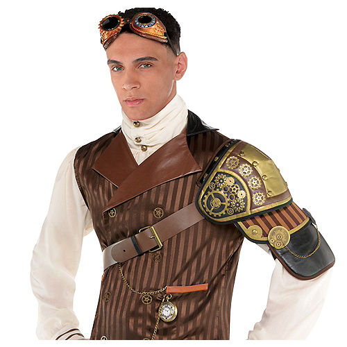 Adult Steampunk Shoulder Armor Image #1