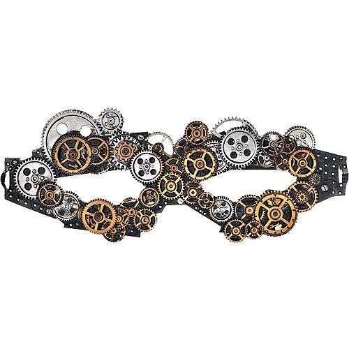Adult Steampunk Mask Image #1