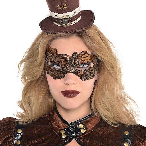 Adult Steampunk Mask Image #2