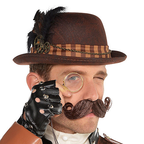 Adult Steampunk Derby Hat Image #2