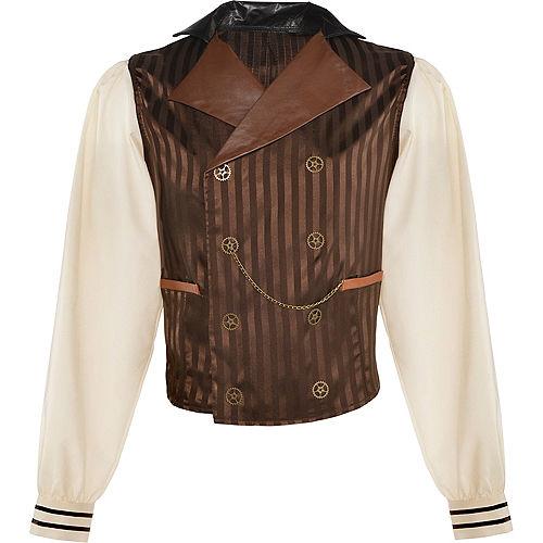 Adult Long-Sleeve Steampunk Shirt Image #2