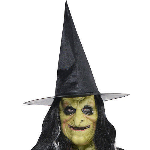 Adult Green Witch Mask Image #2