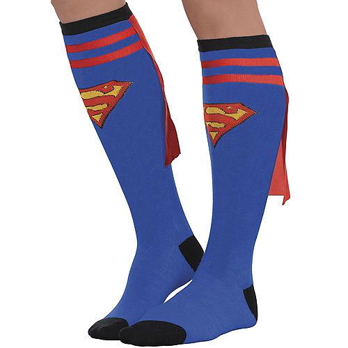 Adult Supergirl Knee Socks - Superman Image #1