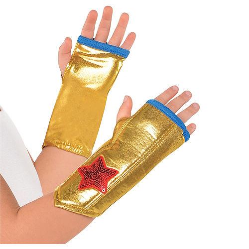 Child Wonder Woman Arm Warmers Image #1