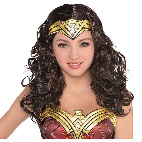 Adult Wonder Woman Wig Image #1
