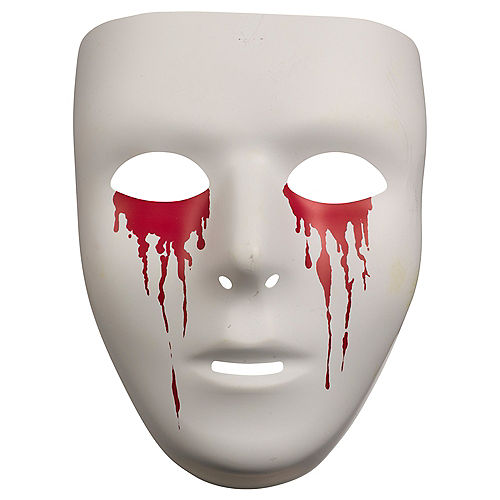 Adult Bleeding Eyes Mask Image #1