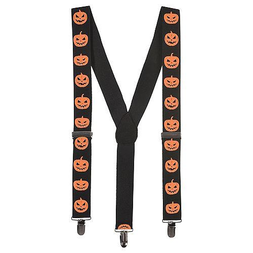 Evil Jack-o'-Lantern Suspenders Image #1
