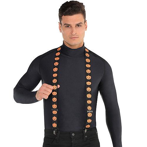 Evil Jack-o'-Lantern Suspenders Image #2