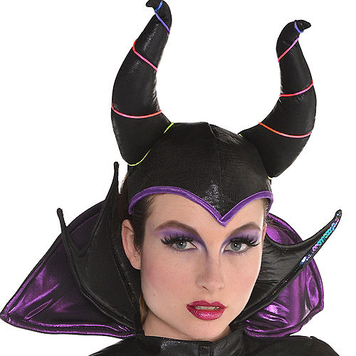Adult Maleficent Horns Headband Image #2