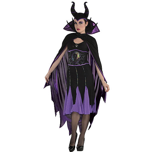 Adult Maleficent Cape Image #1