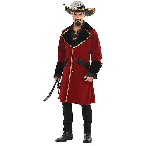 Adult Pirate Captain Jacket Image #1