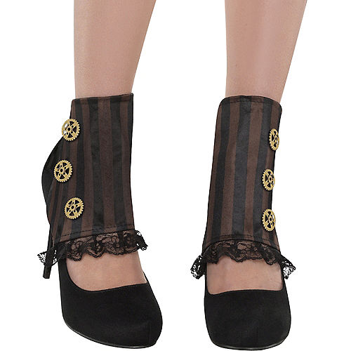 Adult Steampunk Spats Image #2