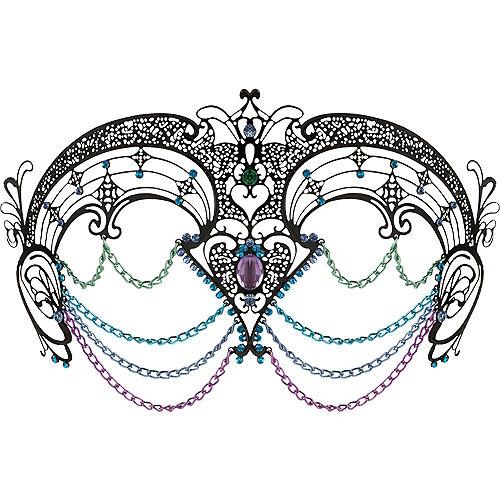 Adult Sea Siren Mermaid Mask Image #1