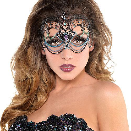 Adult Sea Siren Mermaid Mask Image #2