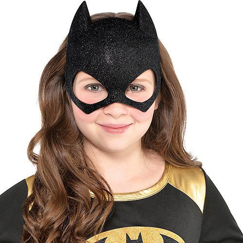 Child Glitter Batgirl Mask - Batman Image #2
