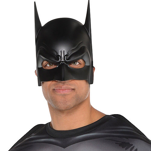 Adult Dark Knight Batman Mask Image #2