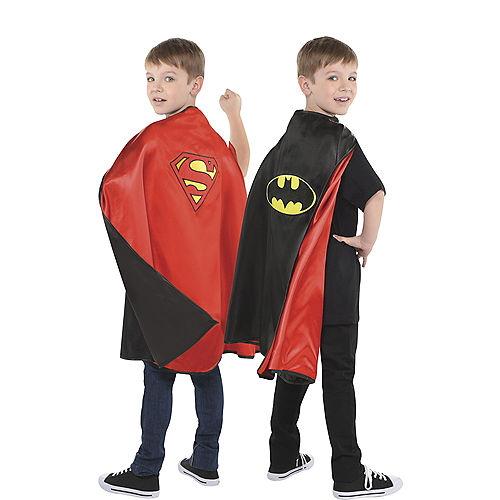Reversible Batman & Superman Cape Image #1