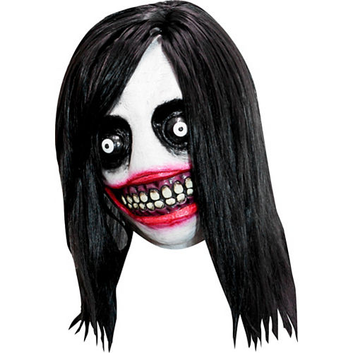 Adult Jeff the Killer Mask Image #1