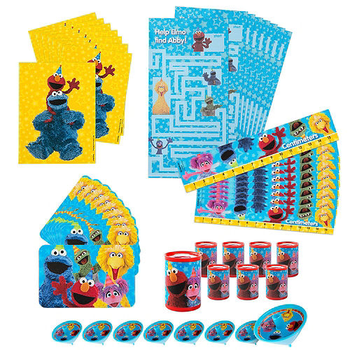 1st Birthday Sesame Street Pinata Kit with Favors Image #5