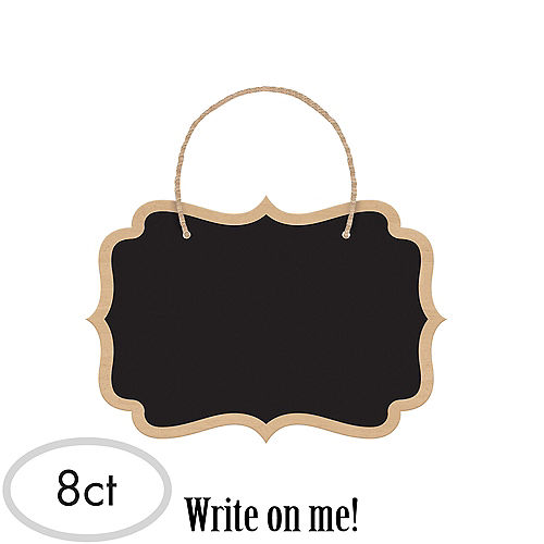 Chalkboard Signs 8ct Image #1