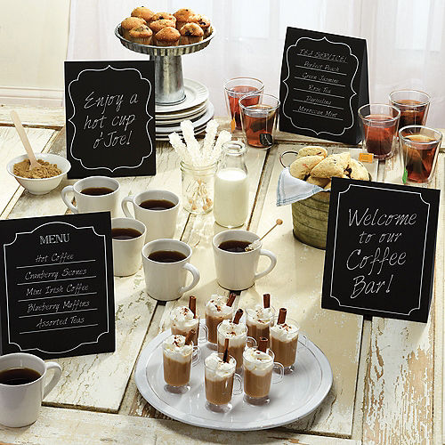 Large Chalkboard Tent Cards 4ct Image #2