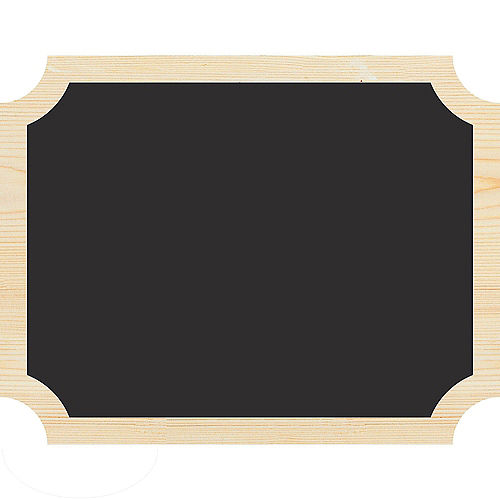Chalkboard Wood Easel Signs 2ct Image #1