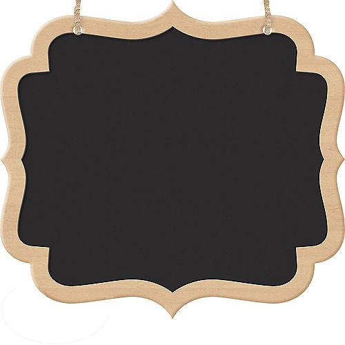 Scroll Chalkboard Wood Signs 2ct Image #1
