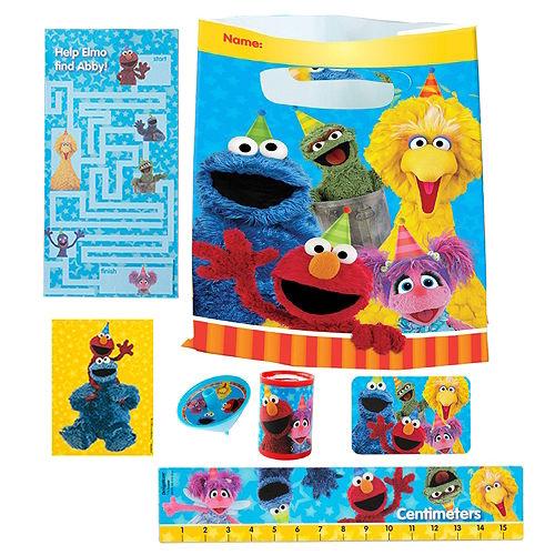 Sesame Street Basic Favor Kit for 8 Guests Image #1