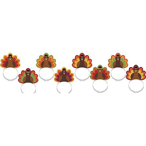 Turkey Headbands 8ct Image #1