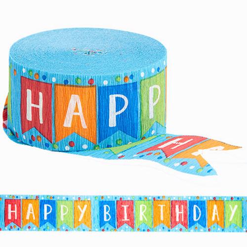 Happy Birthday Streamer Image #1
