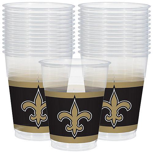 NFL New Orleans Saints Plastic Cups 25ct Image #1