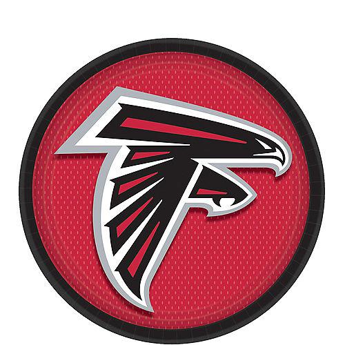 Atlanta Falcons Dessert Plates 18ct Image #1