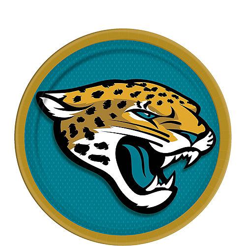 Jacksonville Jaguars Dessert Plates 18ct Image #1