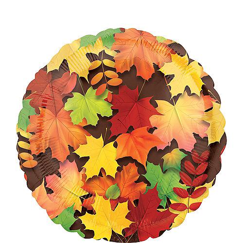 Autumn Leaves Balloon, 17in Image #1