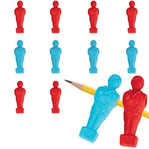 Foosball Pencil Erasers 48ct Image #1